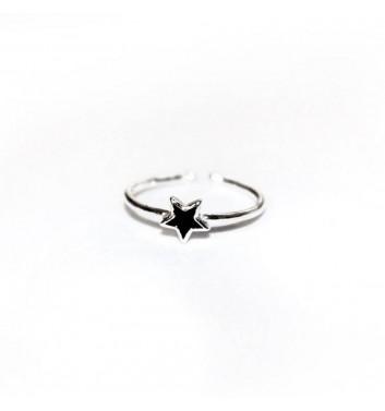 Ring Argent jewellery Black Star