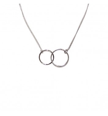 Pendant Argent jewellery Two Circle