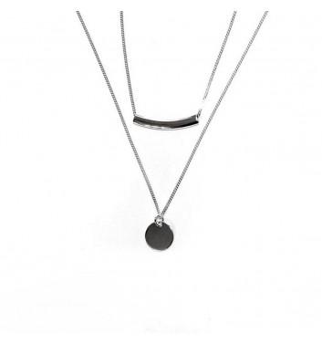 Підвіска Argent jewellery Disk and Bend