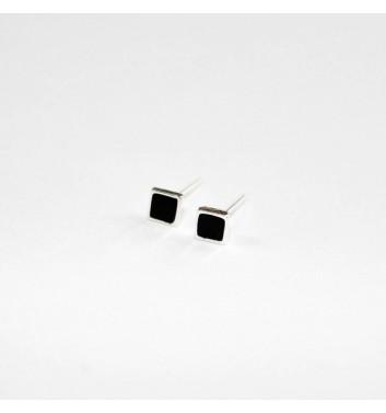 Сережки Argent jewellery Black Square