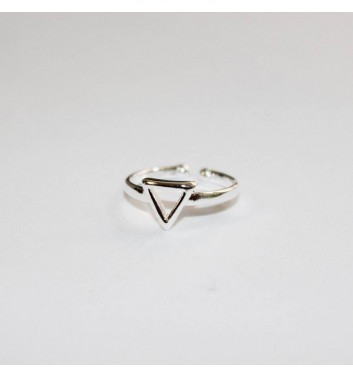 Ring Argent jewellery Empty Triangle