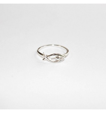 Ring Argent jewellery Empty Fish