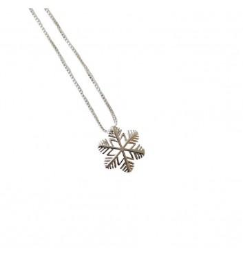 Pendant Argent jewellery Snowflake