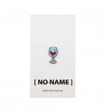 Значок No name Glass with Wine