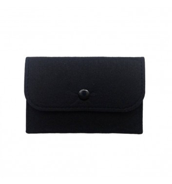 Wallet Cuters Felt Skinny Black