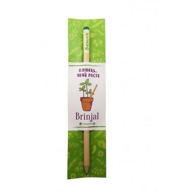 Eco stick Brinjal: олівець з насінням Базилік