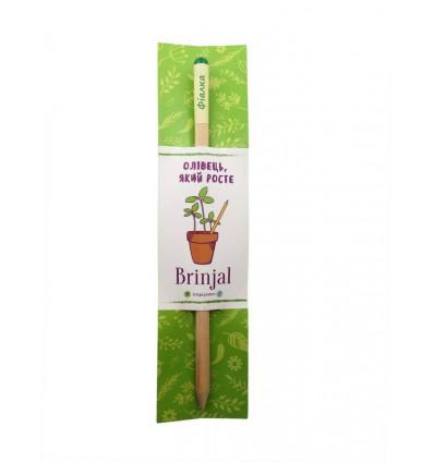 Eco stick Brinjal: олівець з насінням Фіалка