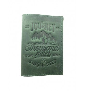 Обкладинка на паспорт Raystone 1000 миль Зелений