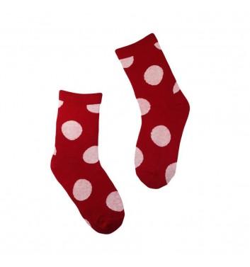 Шкарпетки No name Red with dots