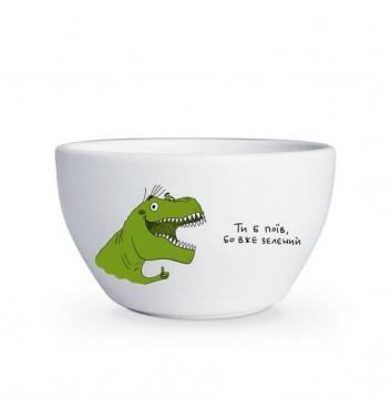 Глубокая тарелка Orner Store Динозавр