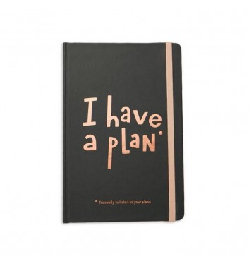 Мини-планер Orner Store I have a plan Black