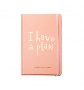 Міні-планер Orner Store I have a plan Pink