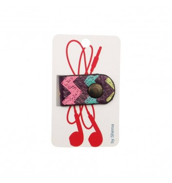 Holder headphones Shirma Colored Zigzag