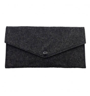 Wallet Cuters Felt Billfold Black