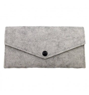 Wallet Cuters Felt Billfold Gray
