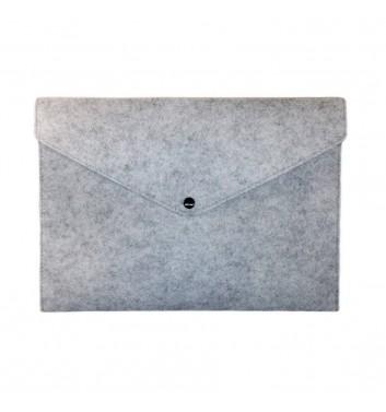 Document folders Cuters Felt Gray