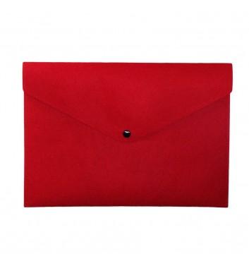 Document folders Cuters Felt Red