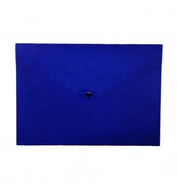 Папка для документов Cuters Felt Blue