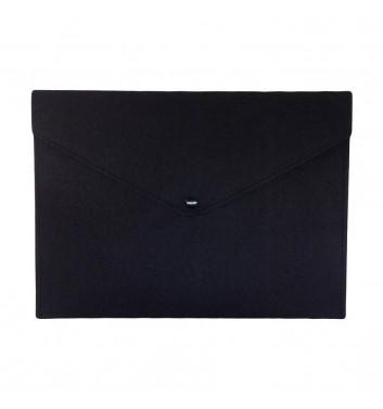 Document folders Cuters Felt Black