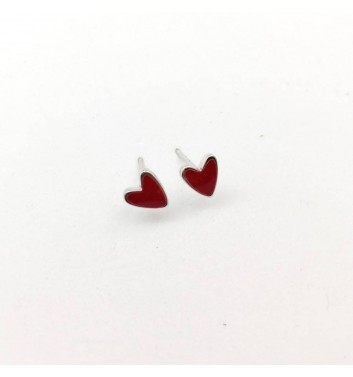 "Сережки ""Hearts Red"""