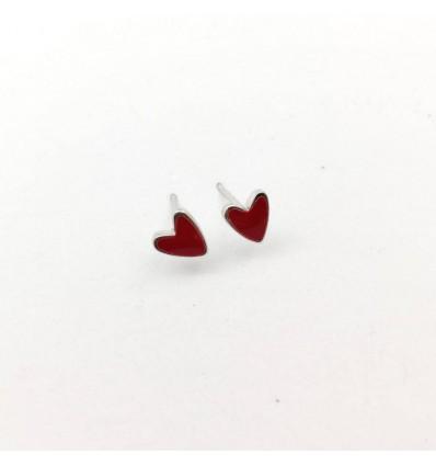 """Серьги """"Hearts Red"""""""