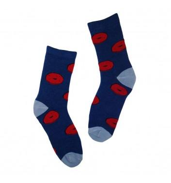 Socks No name Bagel Blue
