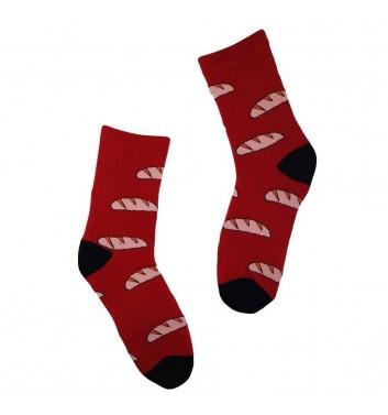 Socks No name Bread Red