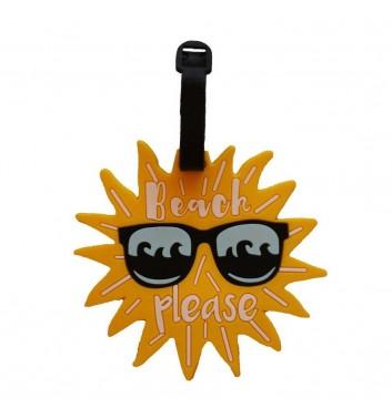 Бирка для багажа Take me away Sun