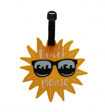 Luggage tag Take me away Sun