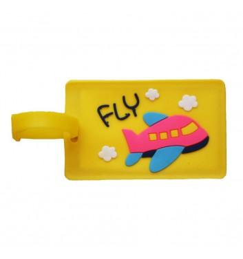 Бирка для багажа Take me away Fly