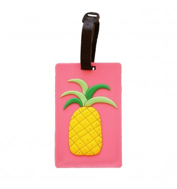 Luggage tag Take me away Pineapple