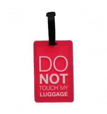 Бирка для багажа Take me away Do not touch