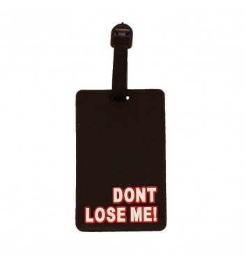 Luggage tag Take me away Don't lose me