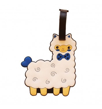 Luggage tag Take me away Sheep