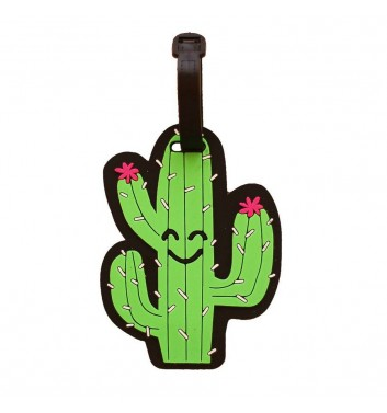 Luggage tag Take me away Cacti