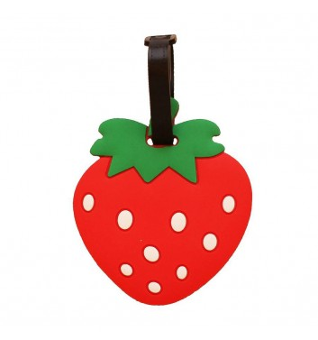 Luggage tag Take me away Strawberry