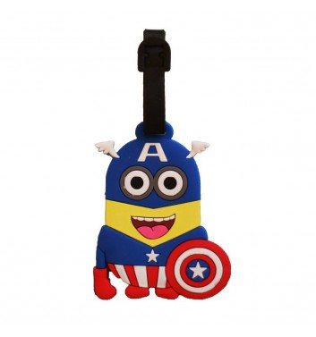 Luggage tag Take me away Minion