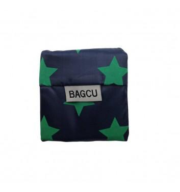 Eco-bag Bagcu Green stars