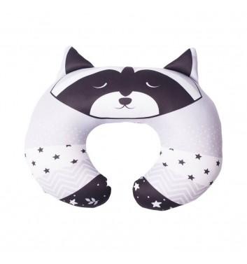 Travel pillow Machka Raccoon