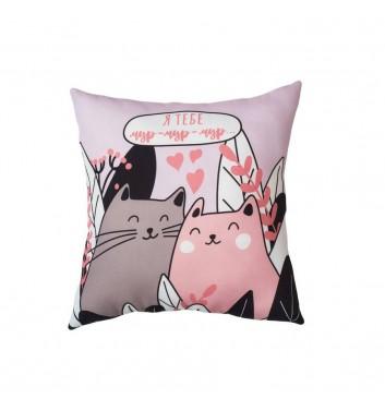 Pillow Machka Cats Love