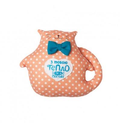 Іграшка Machka Кіт товстун з написом