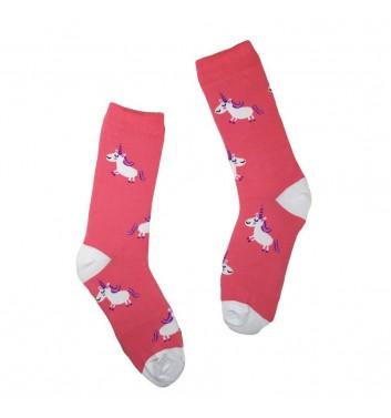 Носки No name Unicorn Pink