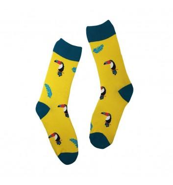 Носки No name Toucan Yellow