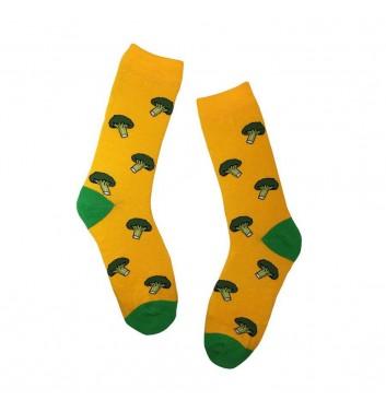 Socks No name Broccoli Yellow