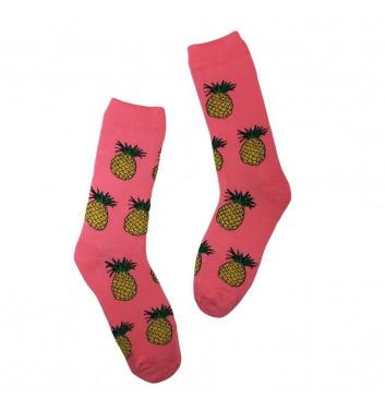 Socks No name Pineapple Pink