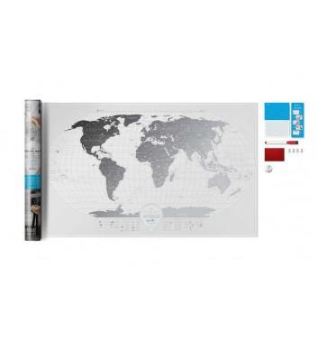Скретч карта мира Travel Map «Air World»