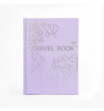 "Блокнот ""Travel Book"" Lavender"