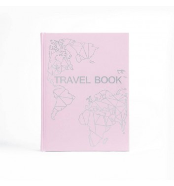 "Блокнот ""Travel Book"" Pink"