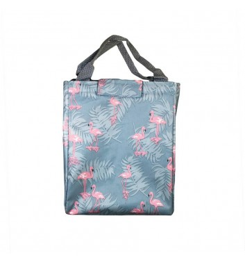 Lunch-bag Leaf Flamingos Jungle