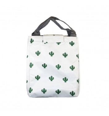 Lunch-bag Leaf Cacti White